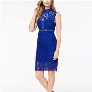 Bardot lace dress